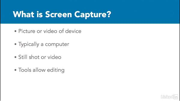What is screen capture?: Learn Snagit for Mac: The Basics