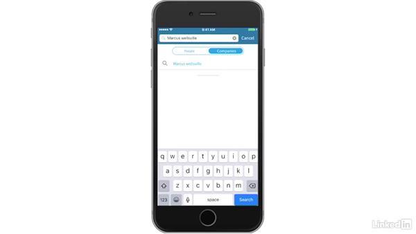 Use the Sales Navigator mobile app: Learn LinkedIn Sales Navigator: The Basics