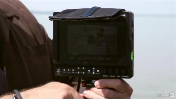 Connecting the monitor: DSLR Video Tips: Gadgets & Gear
