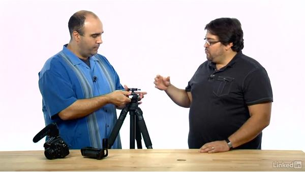 Standard photo head drawbacks: DSLR Video Tips: Gadgets & Gear