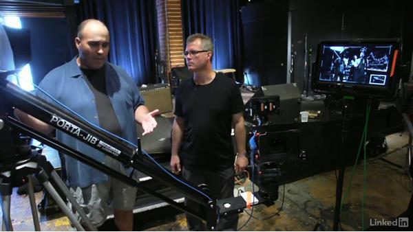 Operating a jib: DSLR Video Tips: Gadgets & Gear