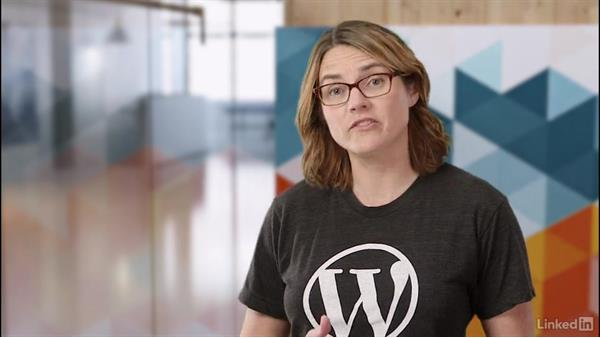 WordPress.com vs. WordPress.org: WordPress.com Essential Training