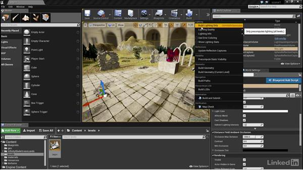 Distance fields and raytraced shadows: Unreal: Learn Lighting