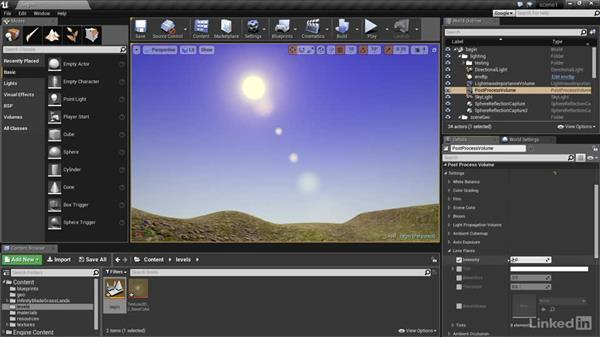 The final touches: Unreal: Learn Lighting