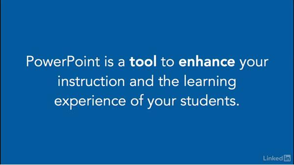 Changing our perspective on using PPT: PowerPoint for Teachers: Create Interactive Lessons
