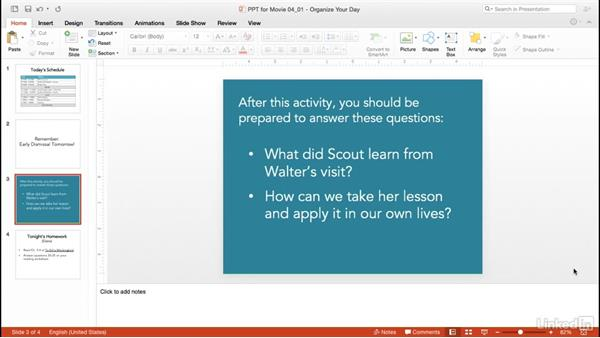 Organize your day: PowerPoint for Teachers: Create Interactive Lessons
