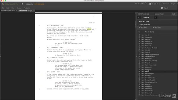 Using software tools to help: Creating a Short Film: 03 Pre-Production