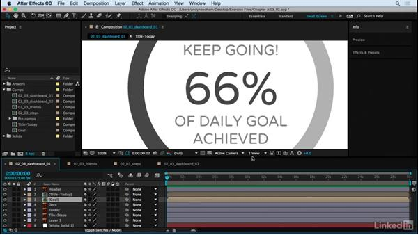 Create reusable components: After Effects: Creating a Mobile App Interface