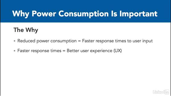 Why power consumption is important: Optimizing Code with Windows Power Tools