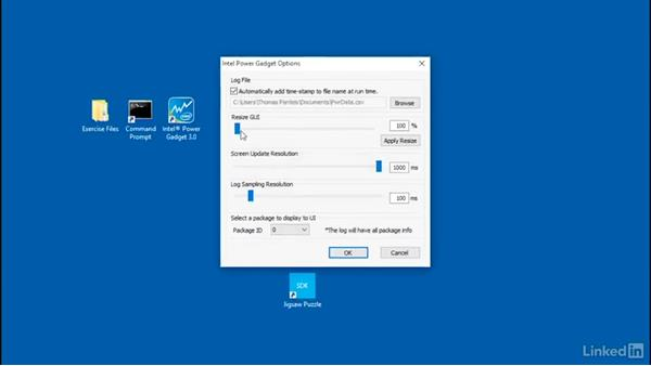 Intel Power Gadget overview: Optimizing Code with Windows Power Tools