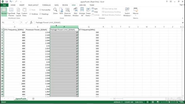 Interpret results: Optimizing Code with Windows Power Tools