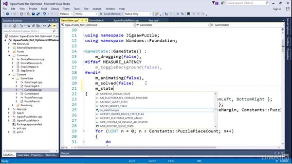 Implement the render state machine: Optimizing Code with Windows Power Tools