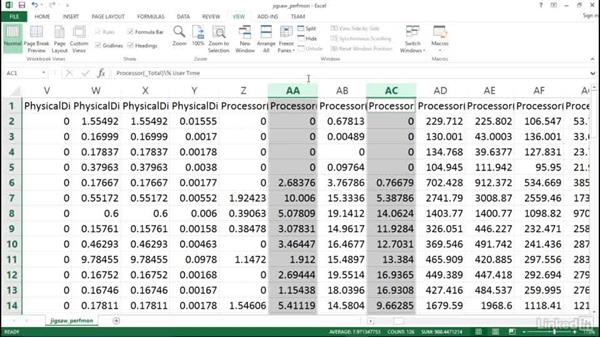 Windows Typeperf data review: Optimizing Code with Windows Power Tools