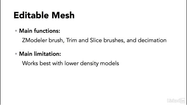 The 3 different modes of making 3D forms in ZBrush