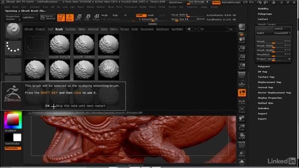 Amplifying detail with morph targets: ZBrush: Tips & Tricks