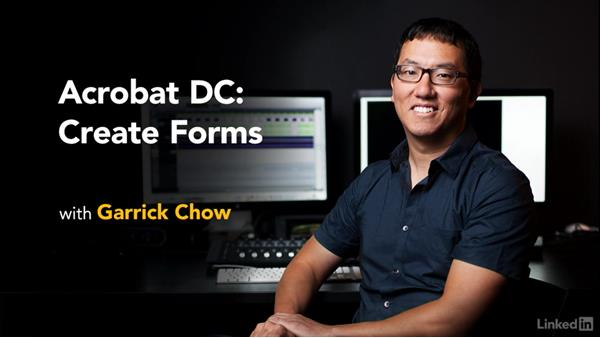 What's next: Acrobat DC: Create Forms