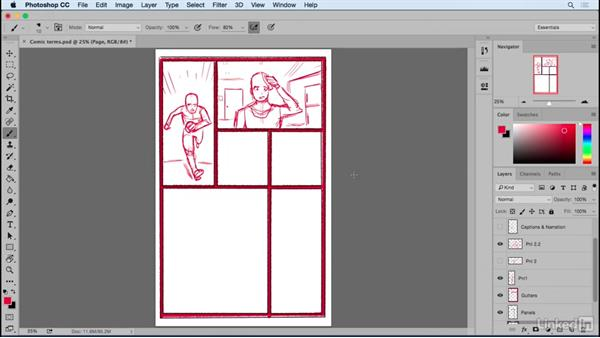 Introduction to comic terms: Designing Dynamic Layouts with Text and Dialog in Comics