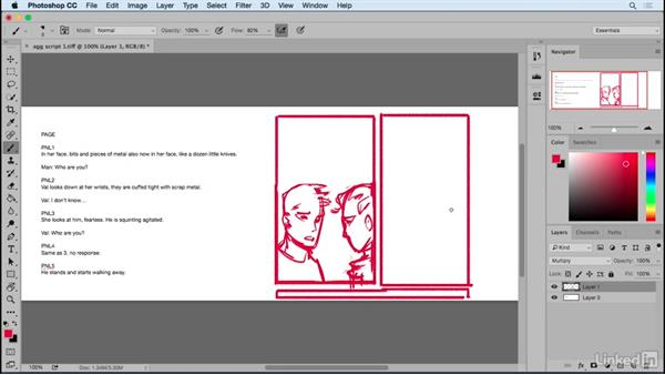 Space for speech: Designing Dynamic Layouts with Text and Dialog in Comics