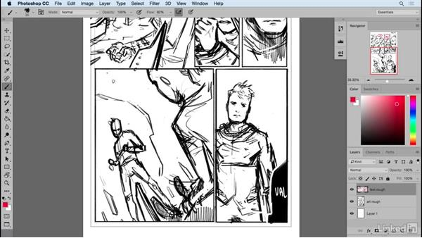 Roughing in balloon placements: Designing Dynamic Layouts with Text and Dialog in Comics
