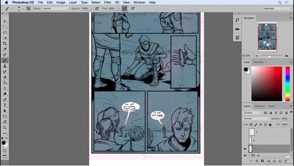 Effective pauses: When less is more: Designing Dynamic Layouts with Text and Dialog in Comics
