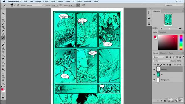 Fast energetic scenes: Designing Dynamic Layouts with Text and Dialog in Comics