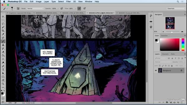 Caption boxes for narration, location, and time: Designing Dynamic Layouts with Text and Dialog in Comics