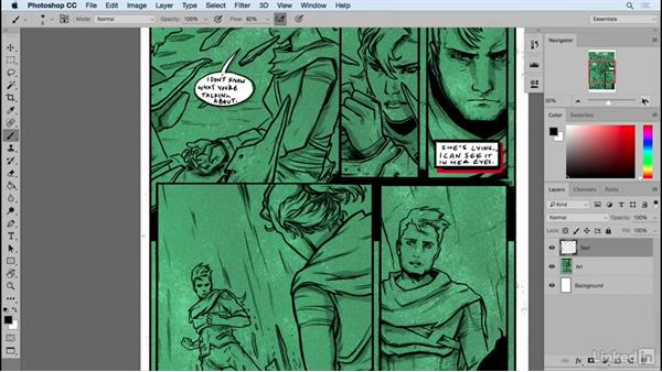 Inner dialogue: Designing Dynamic Layouts with Text and Dialog in Comics