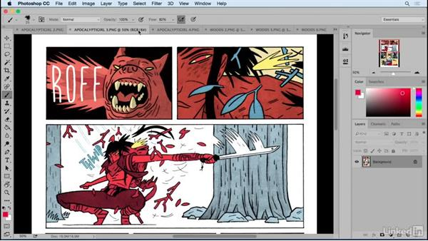 Examples of good sound effects: Designing Dynamic Layouts with Text and Dialog in Comics