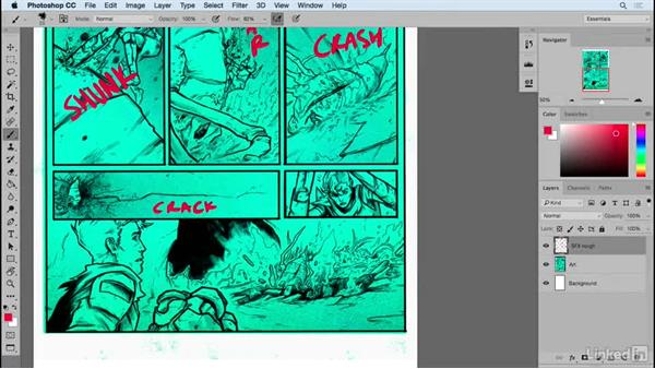 Solution: Add special effects sounds: Designing Dynamic Layouts with Text and Dialog in Comics