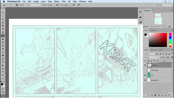Sketching out sounds: Designing Dynamic Layouts with Text and Dialog in Comics