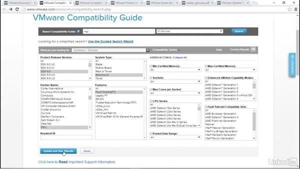 The Support Documentation Center: VMware vSphere Fundamentals