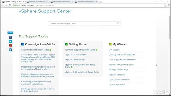 vSphere 6 documentation: VMware vSphere Fundamentals