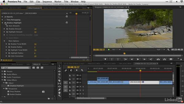 Evaluating the shots: DSLR Video Tips: Technical Knowledge