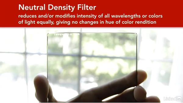 Adding filtration: DSLR Video Tips: Technical Knowledge