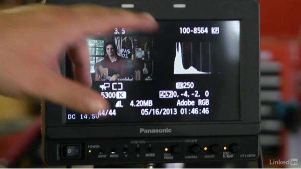 Reading the histogram: DSLR Video Tips: Technical Knowledge