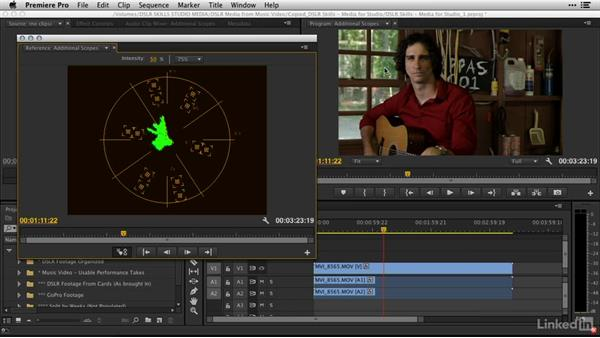 Reading a vectorscope: DSLR Video Tips: Technical Knowledge