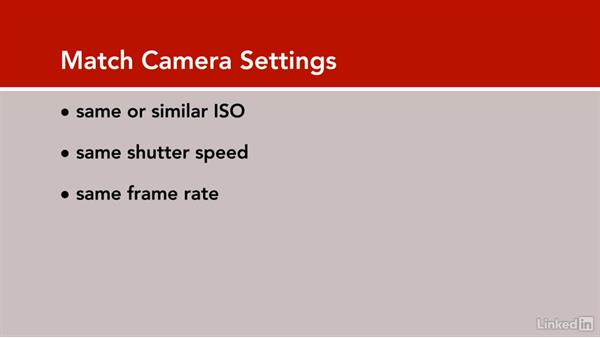 Matching cameras: DSLR Video Tips: Technical Knowledge
