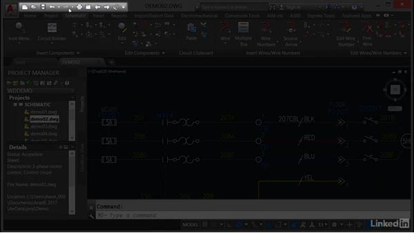 Exploring the user interface: AutoCAD Electrical Essential Training