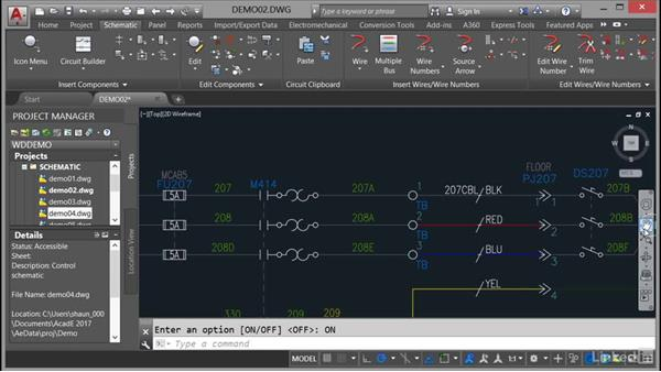 Using the navigation bar: AutoCAD Electrical Essential Training