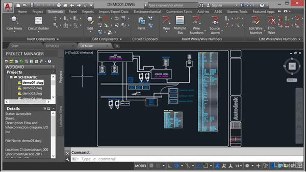Opening drawings: AutoCAD Electrical Essential Training