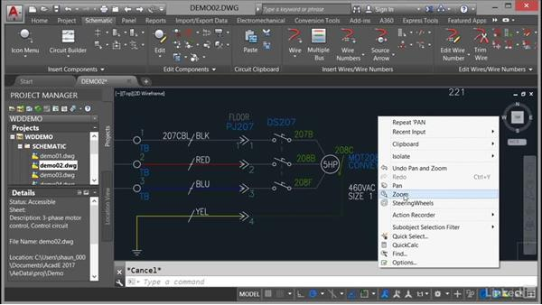 Using the mouse: AutoCAD Electrical Essential Training