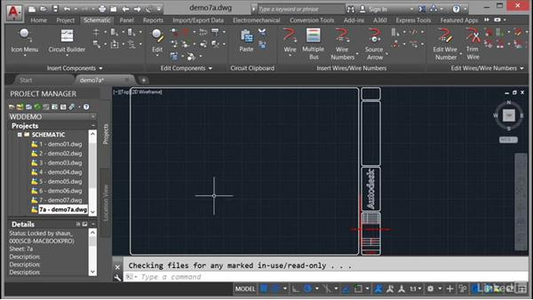 Using ladders: AutoCAD Electrical Essential Training