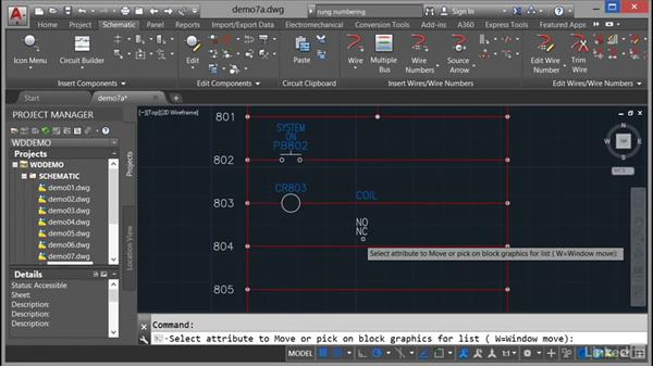 Parent and child components: AutoCAD Electrical Essential Training