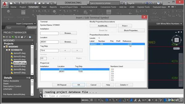 Copying components: AutoCAD Electrical Essential Training