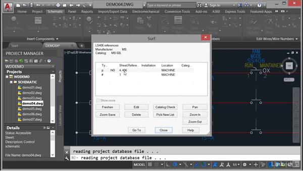 Using the Surfer command: AutoCAD Electrical Essential Training