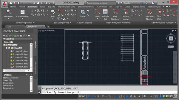 Inserting a PLC (Full Units): AutoCAD Electrical Essential Training