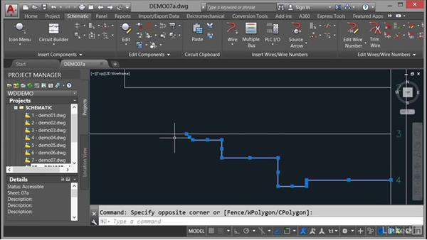 Editing connectors: AutoCAD Electrical Essential Training