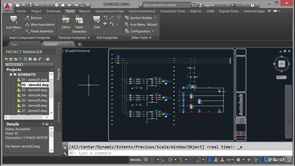 Updating and retagging projects: AutoCAD Electrical Essential Training