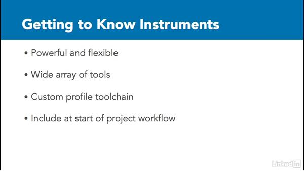 "Say ""hello"" to instruments: Improving iOS Performance with Xcode and Instruments"