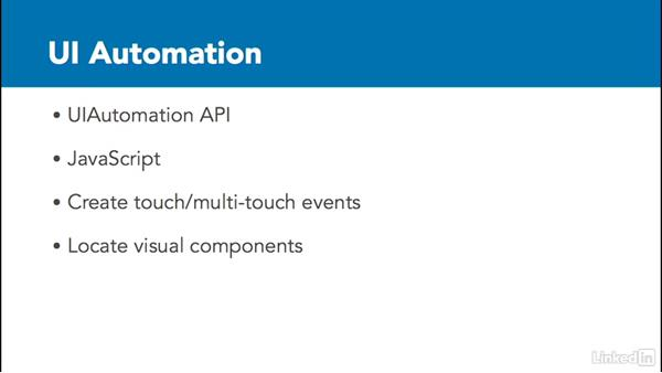 What is UI Automation?: Improving iOS Performance with Xcode and Instruments
